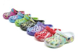 48 Units of Children's Garden Shoes - Girls Slippers