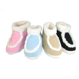 36 Units of Children's Terry Shoes - Girls Slippers