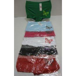 144 Units of Ladies Panties-Butterfly - Womens Panties & Underwear