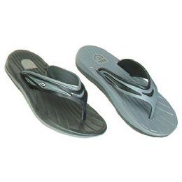 48 Units of Mens Sport Flip Fop - Men's Flip Flops and Sandals