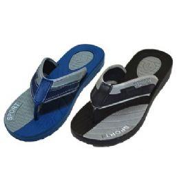 36 Units of Mens Sport FLip FLop - Men's Flip Flops and Sandals