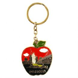 108 Units of Keychain NYC Big Apple - Key Chains