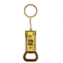 12 Units of Keychain Money Bottle Opener - Key Chains