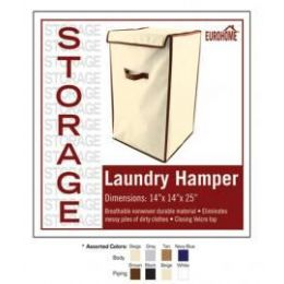 12 Units of Laundry Hamper 4 Assorted Colors - Storage Holders and Organizers