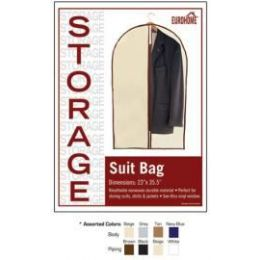 "48 Units of 23"" x 35.5"" SUIT BAG -4 ASSORTED COLORS - Storage Holders and Organizers"