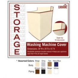 36 Units of WASHING MACHINE COVER -4 ASSORTED COLORS - Storage Holders and Organizers