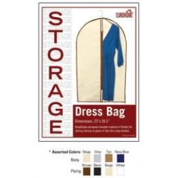 "48 Units of 23"" x 39.5"" DRESS BAG - 4 ASSORTED COLORS - Storage Holders and Organizers"