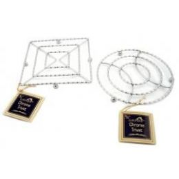 24 Units of Trivets Chrome - Coasters & Trivets