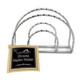 12 Units of Napkin Holder Chrome - Napkin and Paper Towel Holders