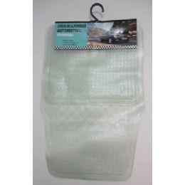 24 Units of 4pc Universal Floor Mats-Clear Plastic - AUTO SUNSHADES/MATS