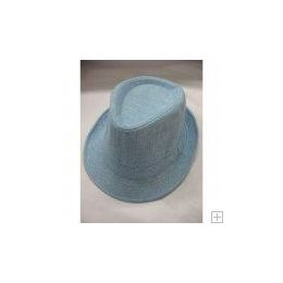 72 Units of Blue Fedora Hat - Fedoras, Driver Caps & Visor