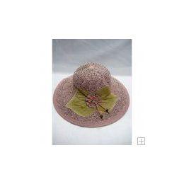 48 Units of Ladies Summer Hat Light Pink - Sun Hats