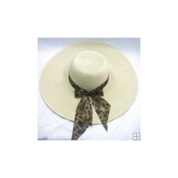 48 Units of Ladies Summer Hat Assorted Colors - Sun Hats