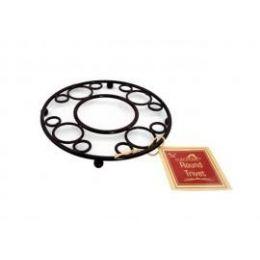 12 Units of Deco Black Trivet - Coasters & Trivets