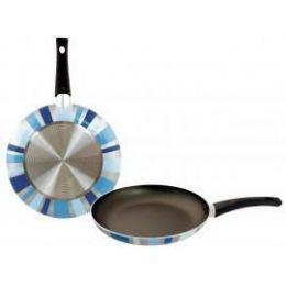 8 Units of 11inch Designer Fry Pan - Blue Prism - Pots & Pans