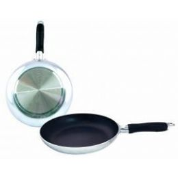 12 Units of 8inch Heavy Duty Fry Pan - Mirror Finish - Pots & Pans
