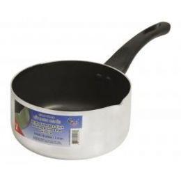 12 Units of Aluminum Lip Sauce Pan - Pots & Pans
