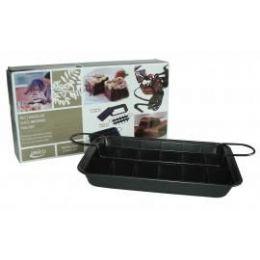 6 Units of Rectangular Slice Brownie Pan Set - Baking Supplies
