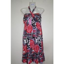 72 Units of Ladies Printed Summer Dress - Womens Sundresses & Fashion
