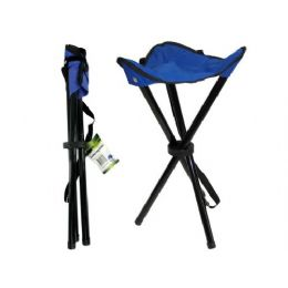 15 Units of camping stool with strap assorted colors - Camping Gear