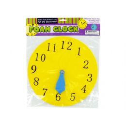 72 Units of foam toy clock - Educational Toys