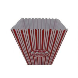 36 Units of Jumbo Popcorn Bucket - Plastic Bowls and Plates