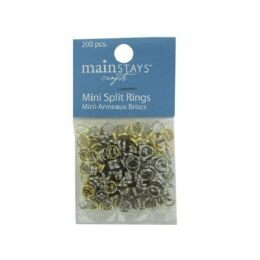288 Units of Mini Split Rings - Craft Tools