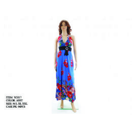 48 Units of Ladies Long Summer Dress - Womens Sundresses & Fashion