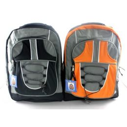 """12 Units of Backpack 17inch Assorted Colors - Backpacks 17"""""""