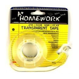 """144 Units of Stationary Tape CleaR- 1/2"""" X 1000"""" W/dispenser - Tape"""