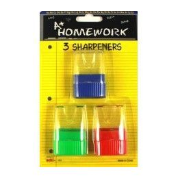 48 Units of Sharpeners- Pencil- Cone Shape - Sharpeners