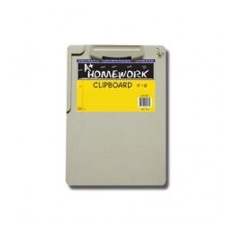 """96 Units of Clipboard- Plastic- w/clip 8""""x 11"""" - Clipboards and Binders"""