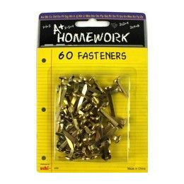 96 Units of Fasteners - 60 pack - Asst. sizes - Carded - Sewing Supplies
