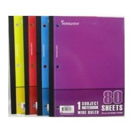 "24 Units of Wireless Notebook - 80 sh - 10.5"" x 8"" - WR - Notebooks"