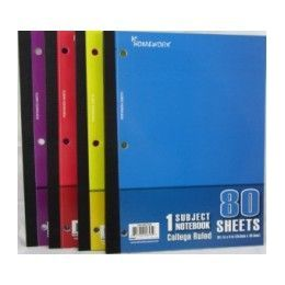 "24 Units of Wireless Notebook - 80 sh - 10.5"" x 8"" - CR - Notebooks"