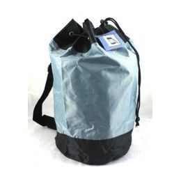 """24 Units of Draw String Nylon Backpack - 17"""" assorted colors. - Backpacks 17"""""""