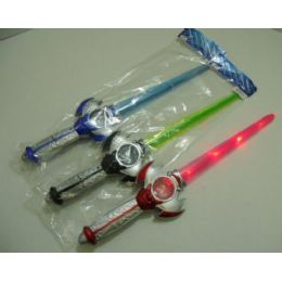 """96 Units of 22"""" Light & Sound Sword with Crystal Ball - Toy Sets"""