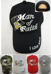 24 Units of Man Of Faith Hat - Baseball Caps & Snap Backs