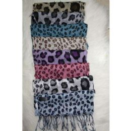 72 Units of Leopard Print Scarf - Winter Scarves