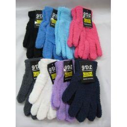 120 Units of Ladies Super Fuzzy Glove - Fuzzy Gloves