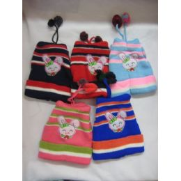 72 Units of Printed Baby Hat - Junior / Kids Winter Hats