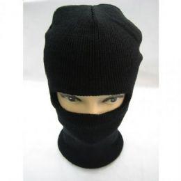 72 Units of Winter Ski Mask Black Only - Unisex Ski Masks