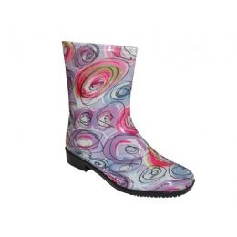 24 Units of Lady Mid Fusion Rainboot - Women's Boots