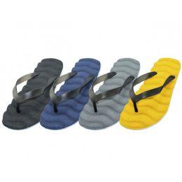 48 Units of Men's Wave Bed Flip Flops - Men's Flip Flops and Sandals