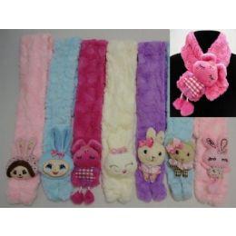 72 Units of Kids Super Soft Scarf - Winter Scarves