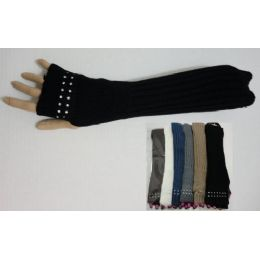 36 Units of Arm Warmer--Rhinestones on Hand - Arm & Leg Warmers