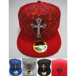 72 Units of Fitted HaT-Diamond Cross - Baseball Caps & Snap Backs