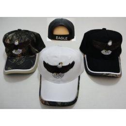 24 Units of Flying Eagle Hat - Baseball Caps & Snap Backs