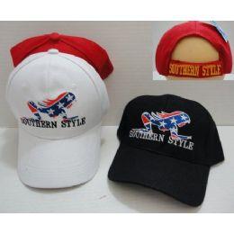 24 Units of Southern Style Hat - Baseball Caps & Snap Backs