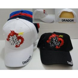 24 Units of Dragon Hat - Baseball Caps & Snap Backs